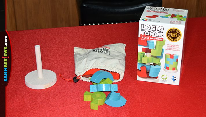 Games aren't the only thing we look for at thrift. This week we picked up a 3-D puzzle, Logiq Tower, that reminded us of a couple others we've solved! - SahmReviews.com