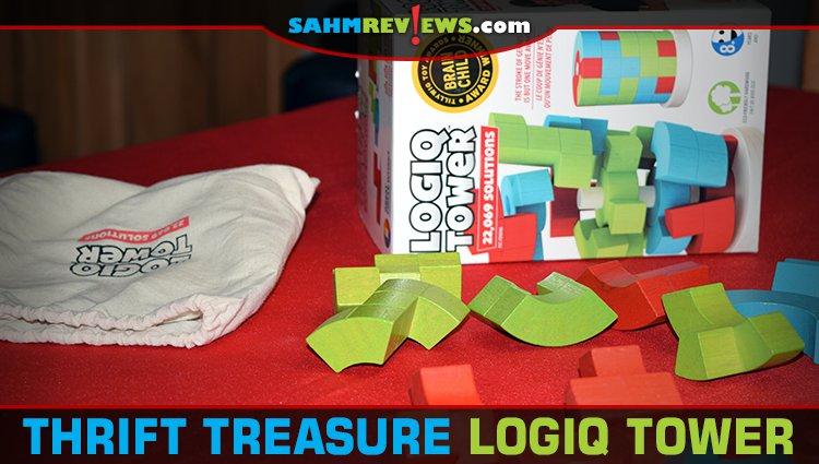 Thrift Treasure: Logiq Tower Puzzle