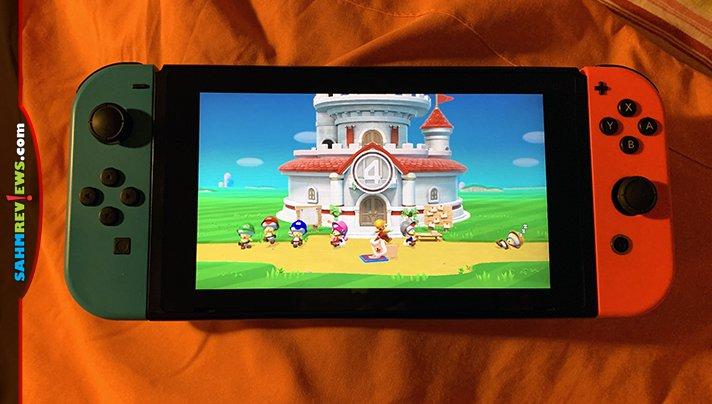Build your own Mario levels using Super Mario Maker 2 for the Nintendo Switch. - SahmReviews.com