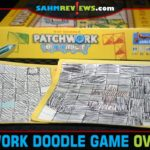 We love it when a favorite game is turned into another that we can quickly pick up on. Patchwork Doodle by Asmodee is a great example of this! - SahmReviews.com