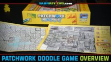 Patchwork Doodle Polyomino Game Overview