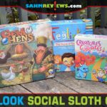 A new brand by Grey Fox Games, Social Sloth Games will house all their family-friendly and party titles. Let's look at the first three issues! - SahmReviews.com