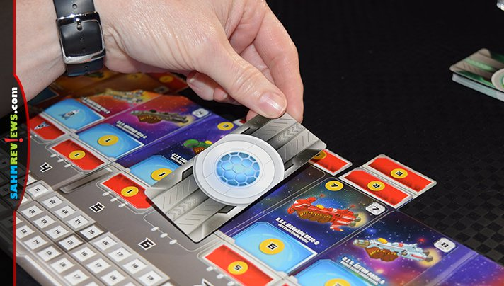Alderac Entertainment Group's Space Base game reminded us of our days playing craps in Las Vegas. Wonder if I could find some loaded dice to use?! - SahmReviews.com