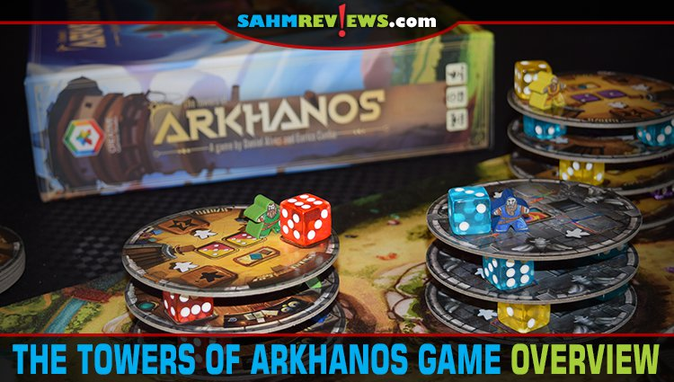 Towers of Arkhanos Dice Game Overview