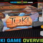 Assembling the puzzle without knowing which pieces you'll use is what makes Tuki shine over the other polyomino games. Read more to see how it's done! - SahmReviews.com