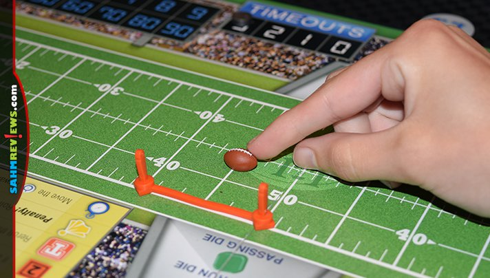 The end of summer means one thing to us - football season begins! We've been playing 1st & Roll by R&R Games to get us ready for the upcoming season! - SahmReviews.com