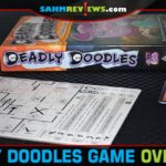 Draw your weapons as you doodle your way through the dungeon in Deadly Doodles from Steve Jackson Games. - SahmReviews.com