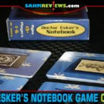 It's much cheaper than a real escape room and can be played solo or with a group! Check out Doctor Esker's Notebook - a puzzle game in a small box! - SahmReviews.com