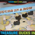 Ducks in a Row is a themed version of the ancient game of Nine Men's Morris. We also saw a copy at our local yogurt shop! Check out this week's thrift find! - SahmReviews.com