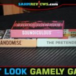 Gamely Games took us by surprise with their line of party games. Check out overviews of Randomise, Soundiculous and The Pretender! - SahmReviews.com