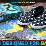 We found a pair of shoes that looks like it was designed with a gamer in mind: Lugz Men's Clipper DLX Oxford Sneaker with a hex pattern! - SahmReviews.com