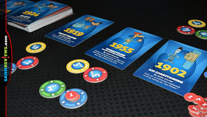 When was the internet invented? If you know, you'll probably do well at Breaking Games' new Order of Invention game! But can you put them in order? - SahmReviews.com