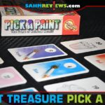 Pick a Paint is a memory game where everyone works together (or competitively) to fill up the board with unique colors. It's this week's Thrift Treasure! - SahmReviews.com