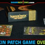 Halloween decorations are already on the shelves. Might as well start thinking about Halloween-themed games! Pumpkin Patch: Bad Seeds is the first new one! - SahmReviews.com