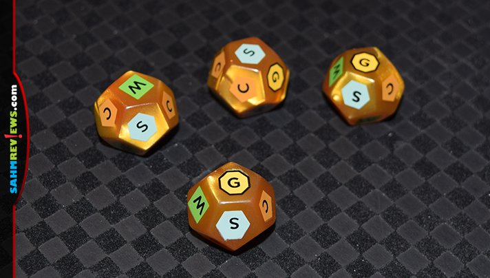 Gold West is still our go-to game for introducing new players to hobby games. Tasty Minstrel Games has followed up with Rolled West set with the same theme! - SahmReviews.com