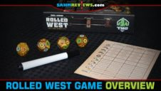 Rolled West Roll-n-Write Game Overview