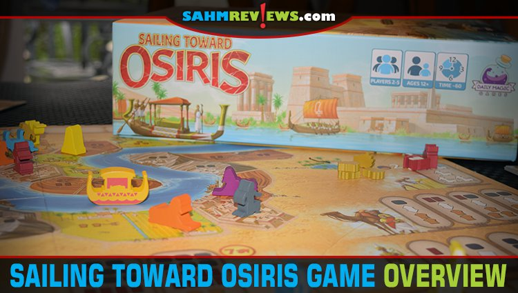 Sailing Toward Osiris Game Overview