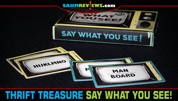 Thrift Treasure: Say What You See! Game