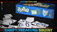 Thrift Treasure: Squint Drawing Game