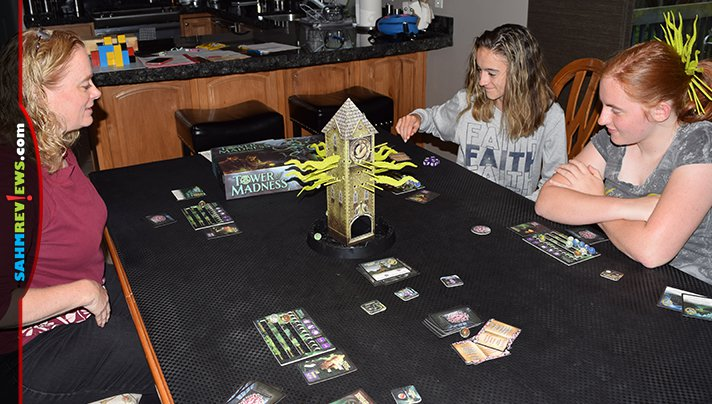 Try not to lose your marbles when you face off with Cthulhu in Tower of Madness from Smirk & Dagger Games. - SahmReviews.com