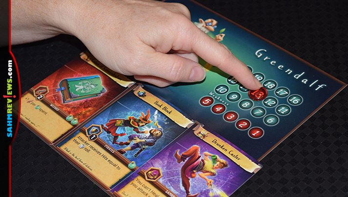 A card battle game that supports more than two players is somewhat of a unicorn. We found one in Witless Wizards by Drawlab Entertainment! - SahmReviews.com
