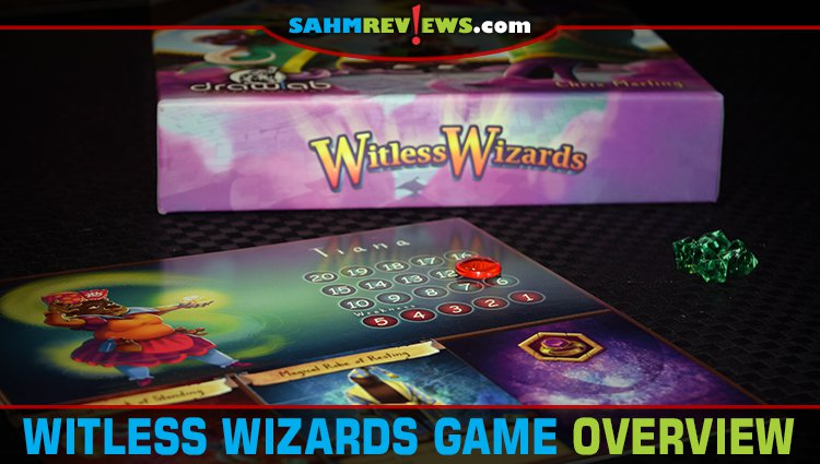 Witless Wizards Card Game Overview