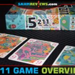Its name confused us at first, but once we realized that 5211 also described how to play, it made perfect sense. Check out this affordable card game by Next Move Games! - SahmReviews.com