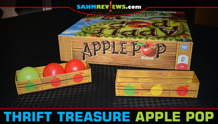 Thrift Treasure: Apple Pop Children's Game