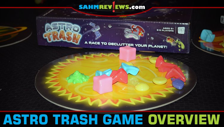 Astro Trash Speed Game Overview