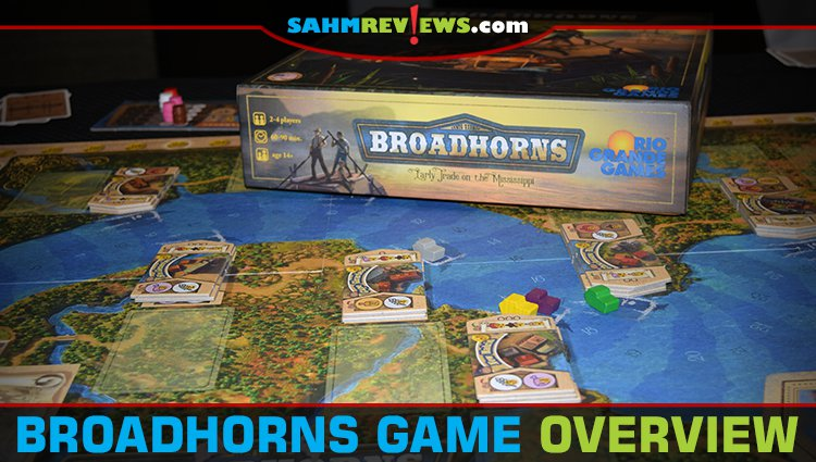 Broadhorns Board Game Overview