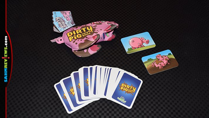 Because we're in Iowa, we know our pigs! Dirty Pig by North Star Games seemed to be a perfect fit for our region. Read more to find out if it was! - SahmReviews.com