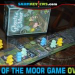 It's not too late to pick up a ghost-themed game for Halloween! This year we decided on Ghosts of the Moor by Tasty Minstrel Games! - SahmReviews.com