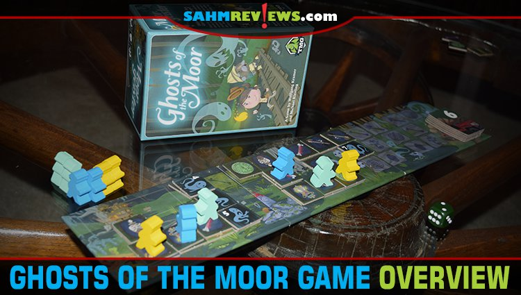 Ghosts of the Moor Board Game Overview