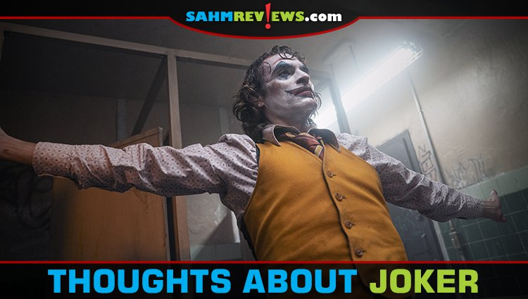 Thoughts on the JOKER movie
