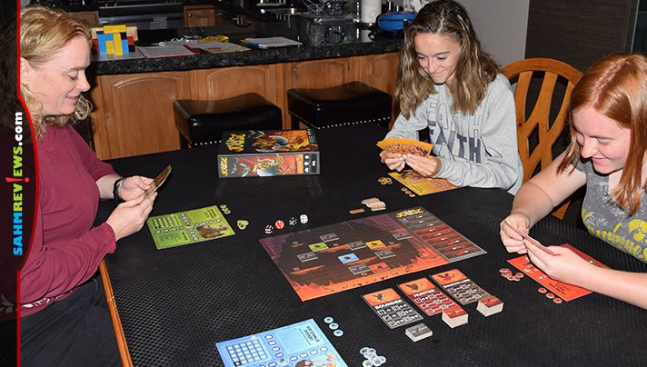 Joust is the third in the series of video games converted to board games by IDW. This one is the most true to the original so far! - SahmReviews.com