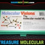 This week's Thrift Treasure isn't a game, but still a great learning tool. We found a like-new copy of Molecular Visions that should help in Chemistry class! - SahmReviews.com