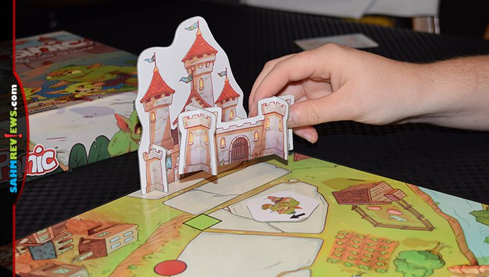 Get your kids interested in modern board games by introducing them to games like My First Castle Panic from Fireside Games. - SahmReviews.com