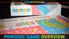 Periodic Scientific Board Game Overview