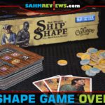 Bid to collect the best cargo filled with gold, cannons and contraband in ShipShape game from Calliope Games. - SahmReviews.com
