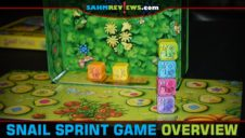 Snail Sprint! Board Game Overview