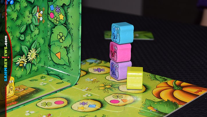It's the slowest race in the world! Six snails will race in HABA's Snail Sprint! and hopefully you have chosen the right colors to cheer for! - SahmReviews.com