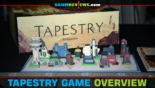 Tapestry Board Game Overview