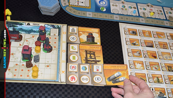 Tapestry board game from Stonemaier Games is an elegant intersection of simplicity and complexity. - SahmReviews.com
