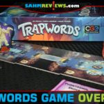 Trapwords from Czech Games Edition isn't your typical word-matching party game. You have to give clues without saying words on your opponent's trap list! - SahmReviews.com