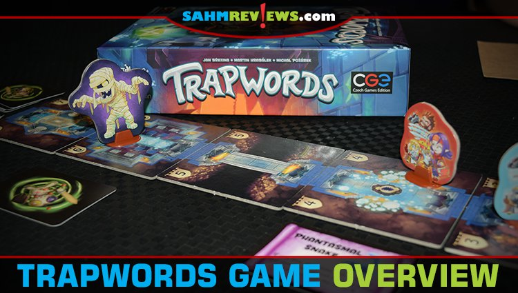 Trapwords Party Game Overview