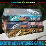 Escape room type games are a ton of fun, but are usually one-time use. Not so with the Unlock series by Space Cowboys! We're trying out Exotic Adventures! - SahmReviews.com
