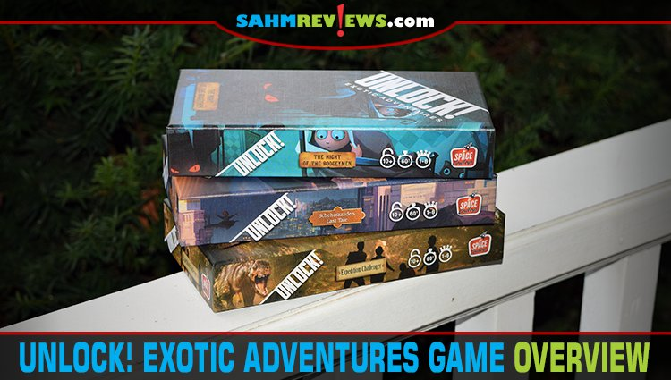 Unlock! Exotic Adventures Puzzle Game Series Overview
