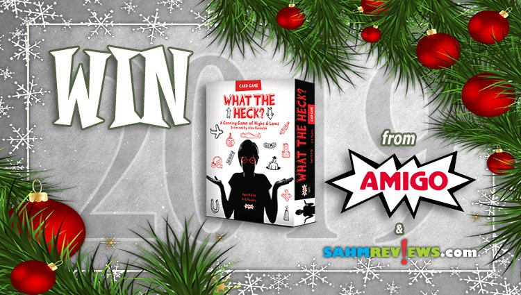Holiday Giveaways 2019 – What the Heck? by AMIGO Games