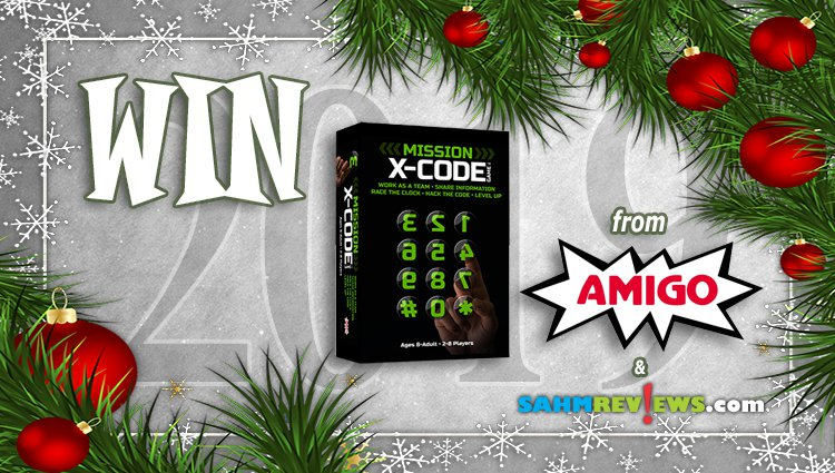 Holiday Giveaways 2019 – X-Code by AMIGO Games
