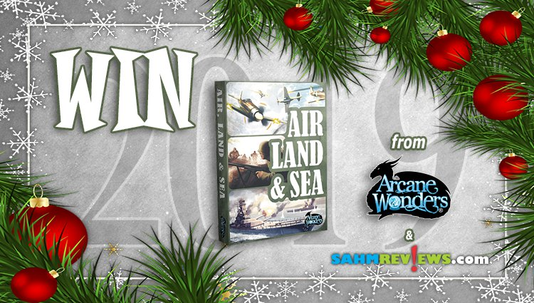 Holiday Giveaways 2019 – Air, Land & Sea by Arcane Wonders